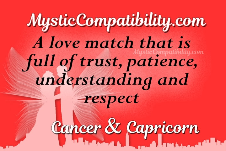are cancers and capricorns a good match