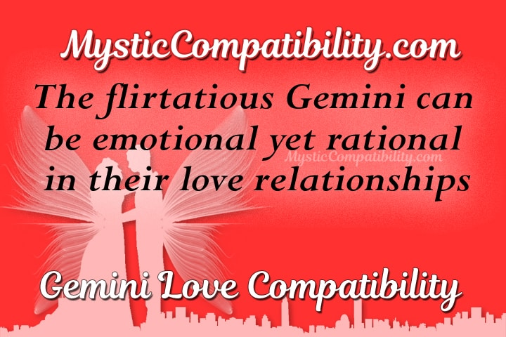 Gemini and gemini marriage