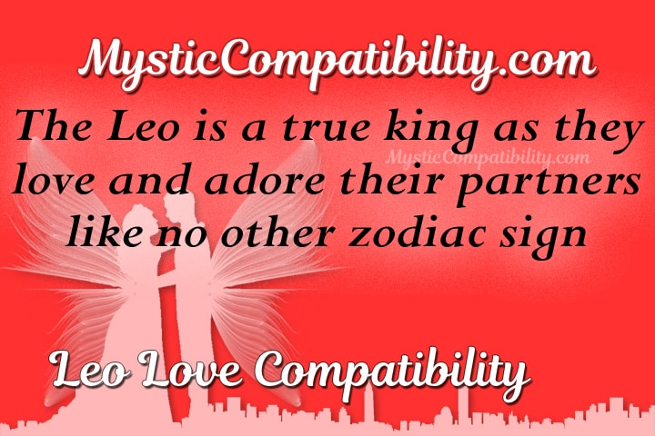 Leos are compatible with what zodiac sign