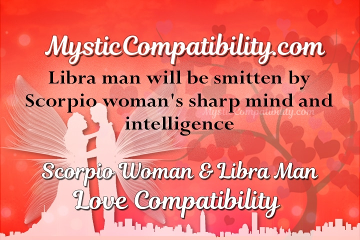 Libra man and scorpio man