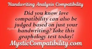 Handwriting Analysis Compatibility