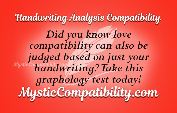 handwriting analysis compatibility
