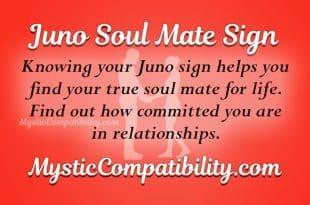 Juno Soul Mate Sign
