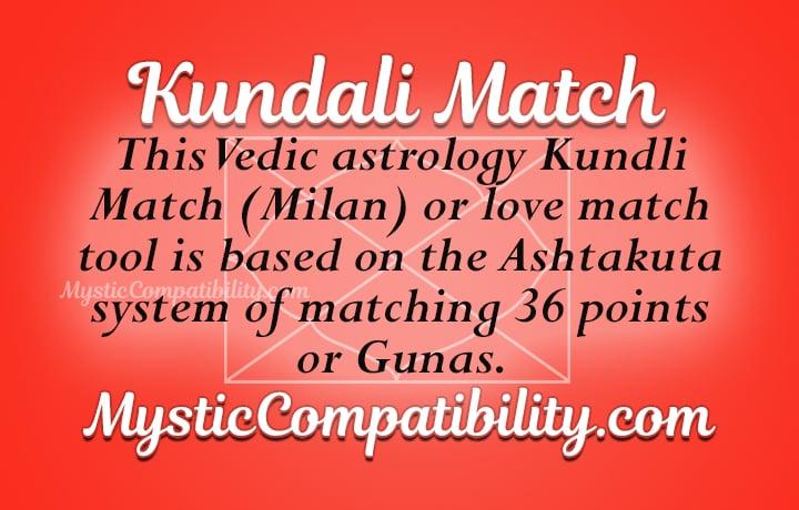 Kundali Match - Mystic Compatibility
