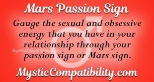 Mars Passion Sign