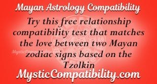 Mayan Astrology Compatibility