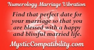 Numerology Marriage Vibration