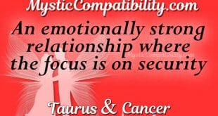 taurus and cancer dating