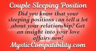Couple Sleeping Position