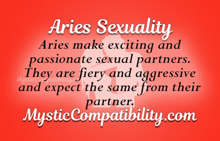 Sex with aries woman