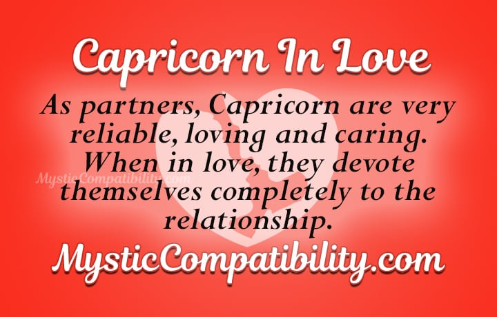 capricorn in love