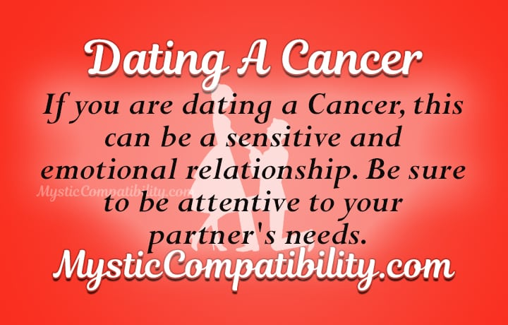 dating cancer