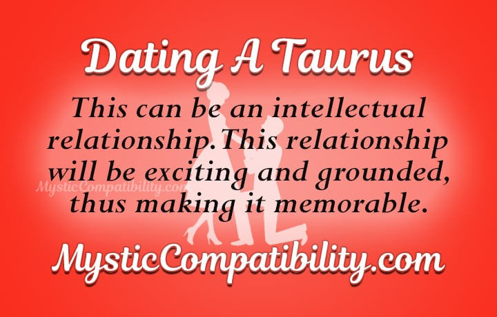 dating taurus