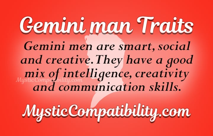 gemini man personality traits