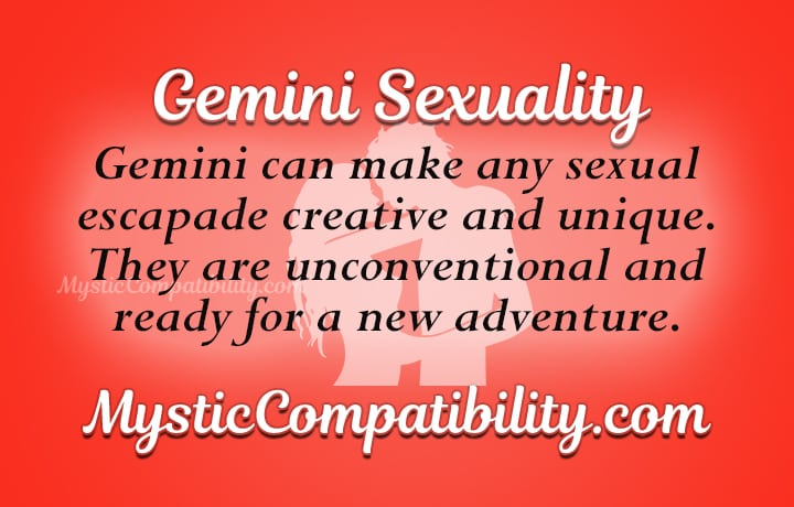 Gemini and pisces sexually