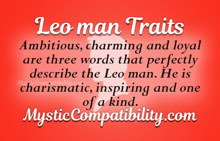 leo man personality traits