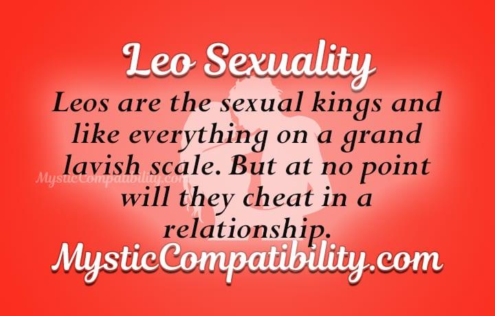 Leo Zodiac Sign Sexuality