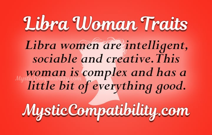 libra woman personality traits