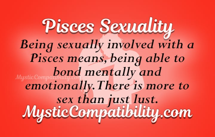 Pisces sexuality traits
