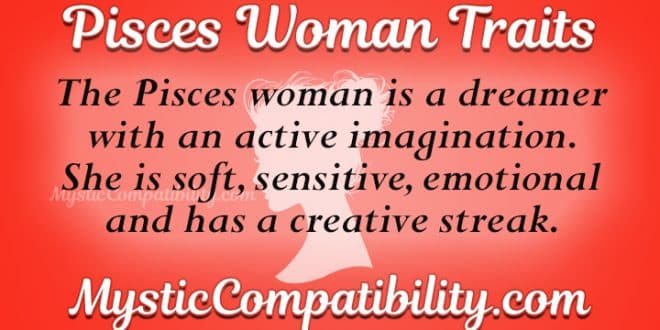 Traits of pisces woman