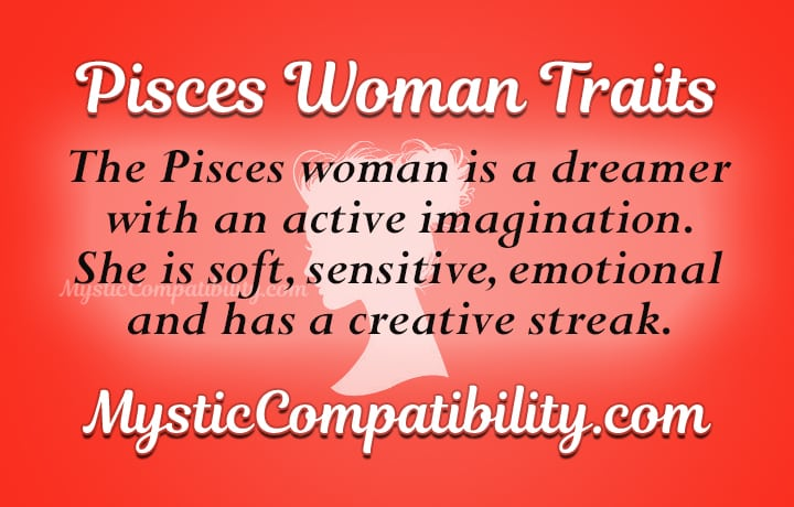 pisces woman personality traits