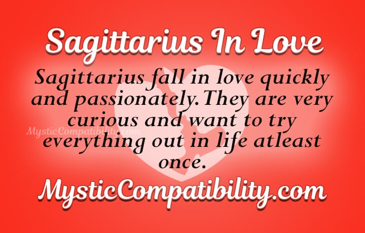sagittarius in love