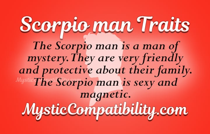 scorpio man personality traits