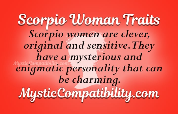 scorpio woman personality traits