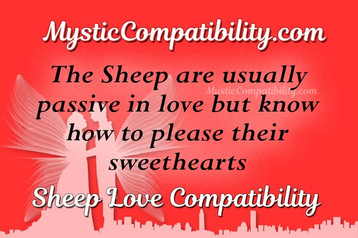 sheep compatibility