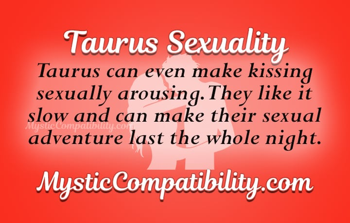 How To Please A Taurus Man Sexually