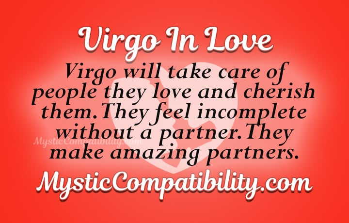 virgo in love