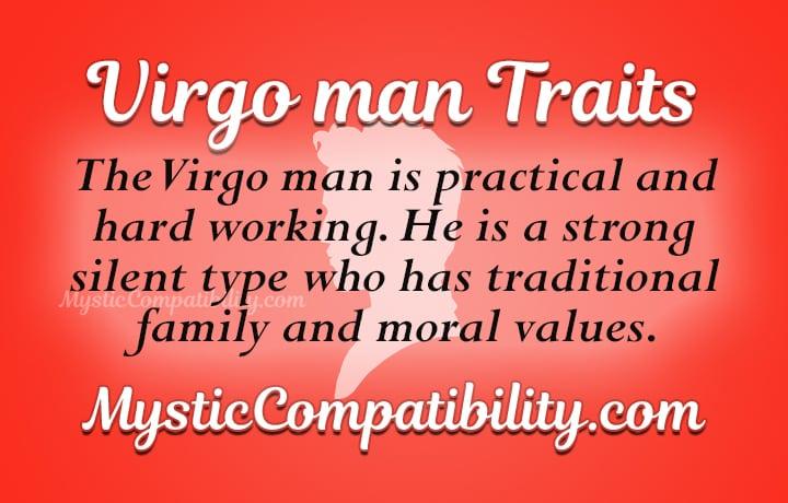 virgo man personality traits