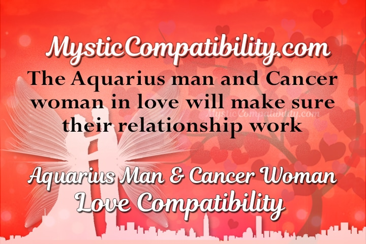 Aquarius man and cancer woman love compatibility