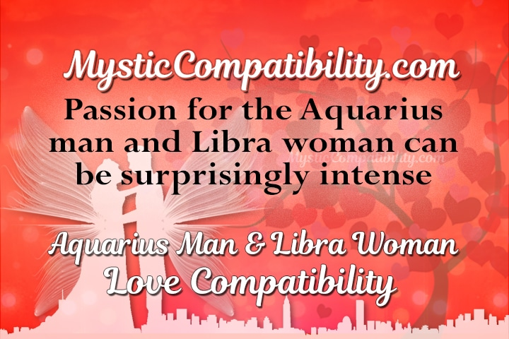 Aquarius man and libra woman marriage compatibility