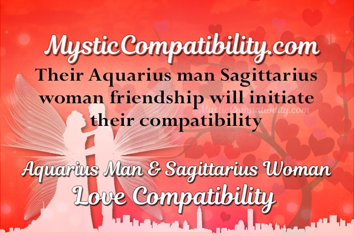 Sagittarius woman dating an aries man
