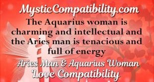 aries man aquarius woman compatibility