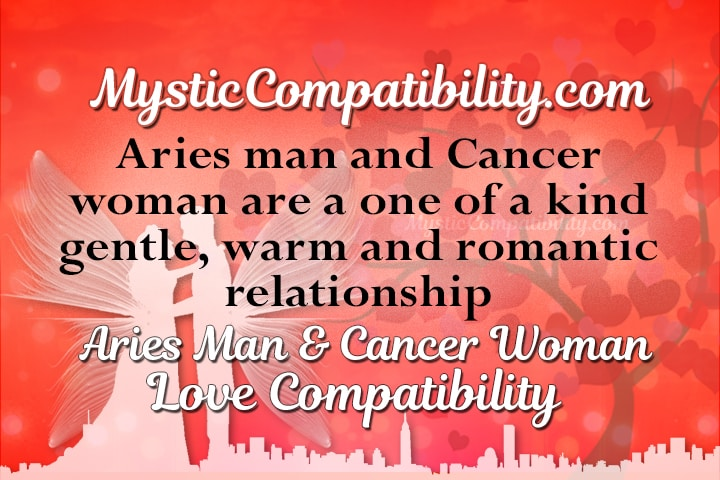 aries man cancer woman compatibility