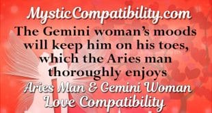 aries man gemini woman compatibility