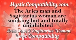 aries man sagittarius woman compatibility