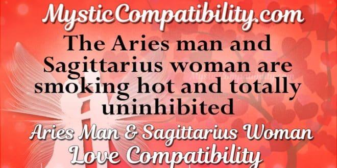 Sagittarius and aries in love