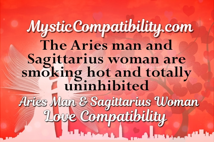 Sagittarius Woman And Aries Man 100