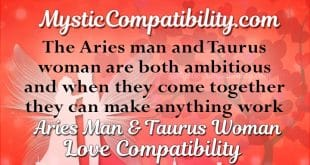 aries man taurus woman compatibility