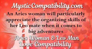leo man and aries woman