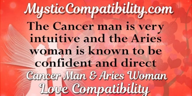 Cancer man and aries woman friendship compatibility