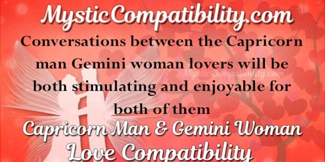 Capricorn man gemini woman marriage