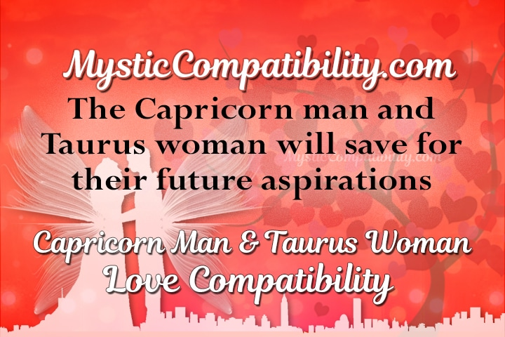 Capricorn man dating taurus woman