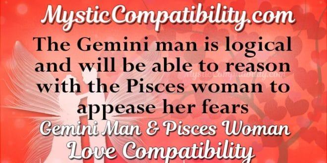 Gemini Man Pisces Woman Compatibility - Mystic Compatibility