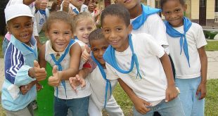 kids having group photo