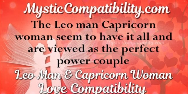 Leo Man Hookup A Capricorn Woman
