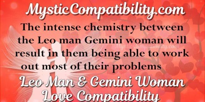 Gemini woman leo man sexually